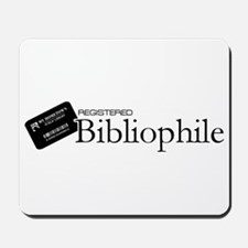 Registered Bibliophile Mousepad