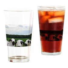 Super Hero Sheep Drinking Glass