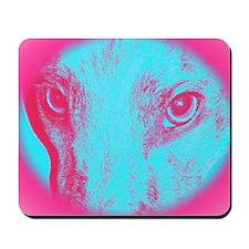 Blue Zoe Mousepad