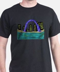 CITYMELTS St. Louis Skyline T-Shirt