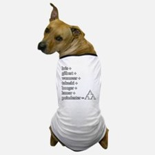 THE TRI-LAMS TRIBUTE Dog T-Shirt