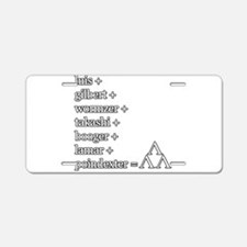 THE TRI-LAMS TRIBUTE Aluminum License Plate