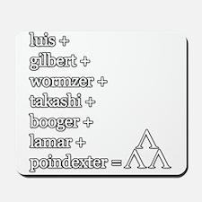 THE TRI-LAMS TRIBUTE Mousepad