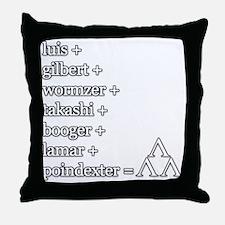 THE TRI-LAMS TRIBUTE Throw Pillow
