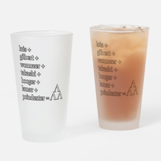 THE TRI-LAMS TRIBUTE Drinking Glass