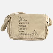 THE TRI-LAMS TRIBUTE Messenger Bag
