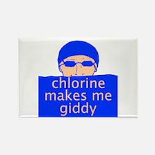 Chlorine Rectangle Magnet