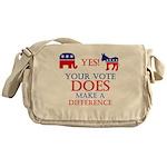 Your Vote Counts Messenger Bag