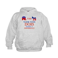 Your Vote Counts Hoodie