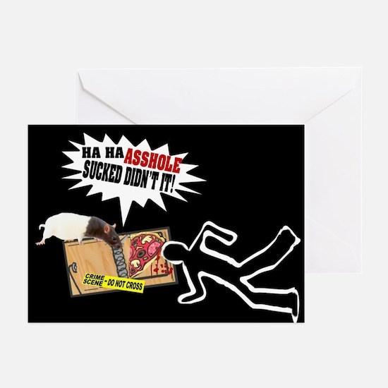 Mouse Revenge Greeting Cards (Pk of 10)