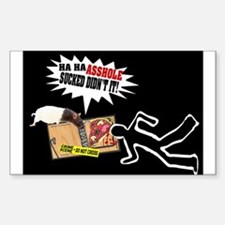 Mouse Revenge Rectangle Decal