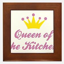 Queen of the Kitchen Framed Tile