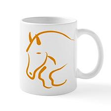 jumping horse Mug