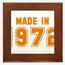 Made in 1972 Framed Tile