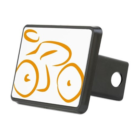 bike logo Rectangular Hitch Cover