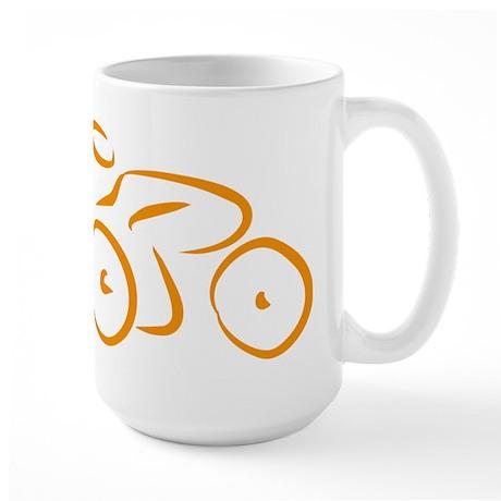 bike logo Large Mug