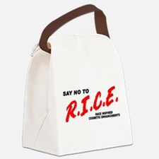 Say No To Rice Canvas Lunch Bag