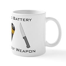 A Salt And Battery With A Dea Small Mug