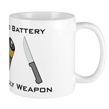 A Salt And Battery With A Dea Small Mugs