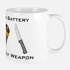 A Salt And Battery With A Dea Small Small Mug