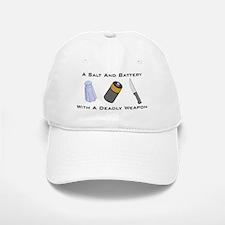 A Salt And Battery With A Dea Baseball Baseball Cap