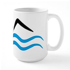 swimmer logo Mug