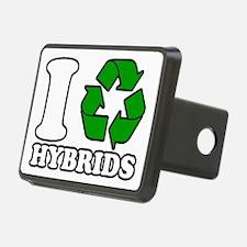 I Heart Hybrids Hitch Cover