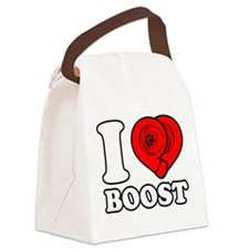 I Heart Boost Canvas Lunch Bag