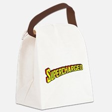 Supercharged Canvas Lunch Bag