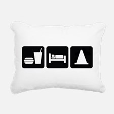 Eat Sleep AutoX Rectangular Canvas Pillow