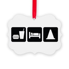 Eat Sleep AutoX Ornament
