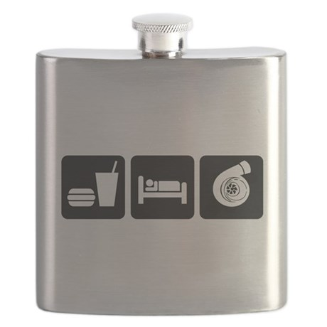 Eat Sleep Boost Flask