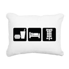 Eat Sleep Drag Rectangular Canvas Pillow