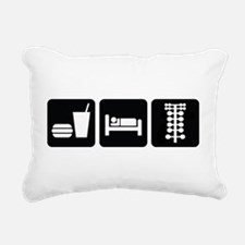 Eat Sleep Drag Rectangular Canvas Pillow