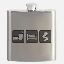 Eat Sleep Twisties Flask