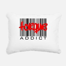 TorqueAddictDesign2.png Rectangular Canvas Pillow