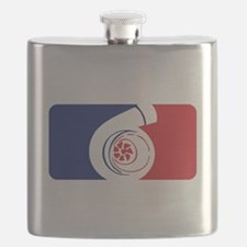 Major League Boost Flask