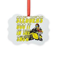Sledders Doo Ornament