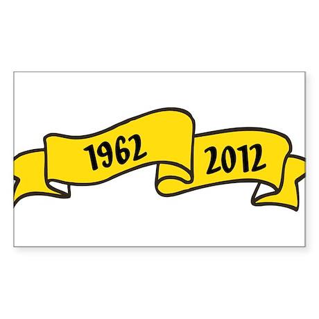 1962 Sticker (Rectangle)
