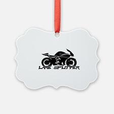 Lane Splitter Ornament