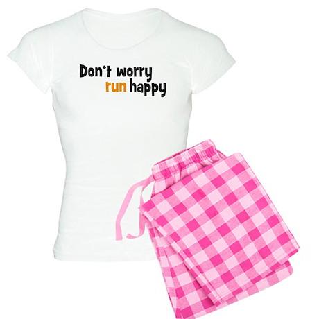 don't worry, run happy Women's Light Pajamas