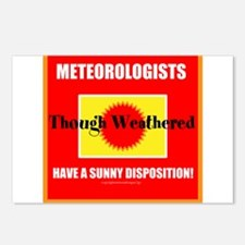 Meteorologist Though Weathered Have a Sunny Dispos