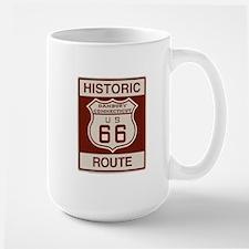 Danbury Route 66 Large Mug