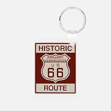 Danbury Route 66 Keychains
