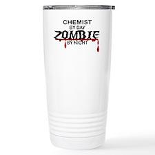 Chemist Zombie Travel Coffee Mug