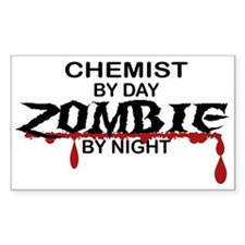 Chemist Zombie Decal