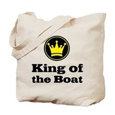 King of the Boat Tote Bag