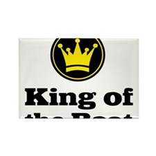 King of the Boat Rectangle Magnet