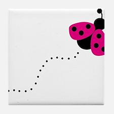 ladybird Tile Coaster