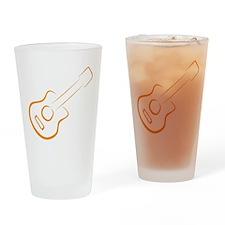 guitar Drinking Glass
